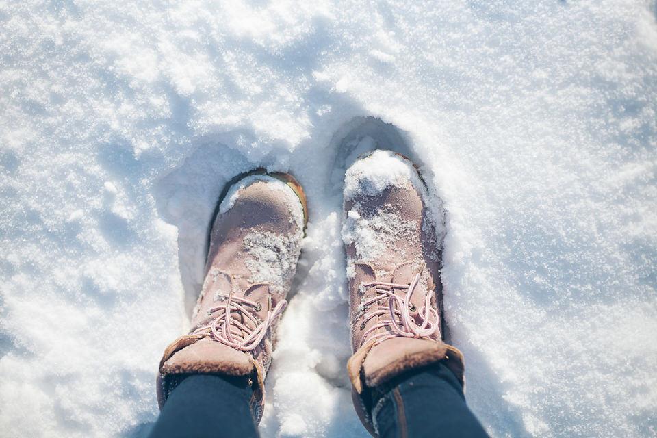 雪対策のための靴選び